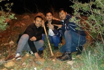 קהילת בני המנשה בקרית שמונה נוטעת לראשונה עצים בארץ ישראל
